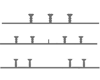 Гидрошпонка «Аквастоп» ХОМ-320-4/20 ПВХ-П